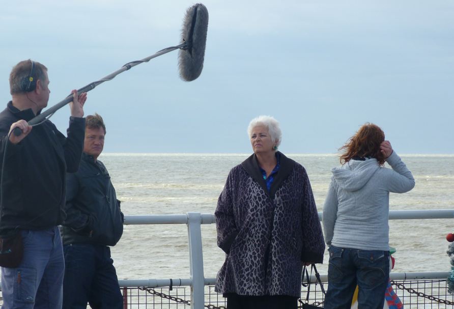Eastenders Filmed at Clacton Pier